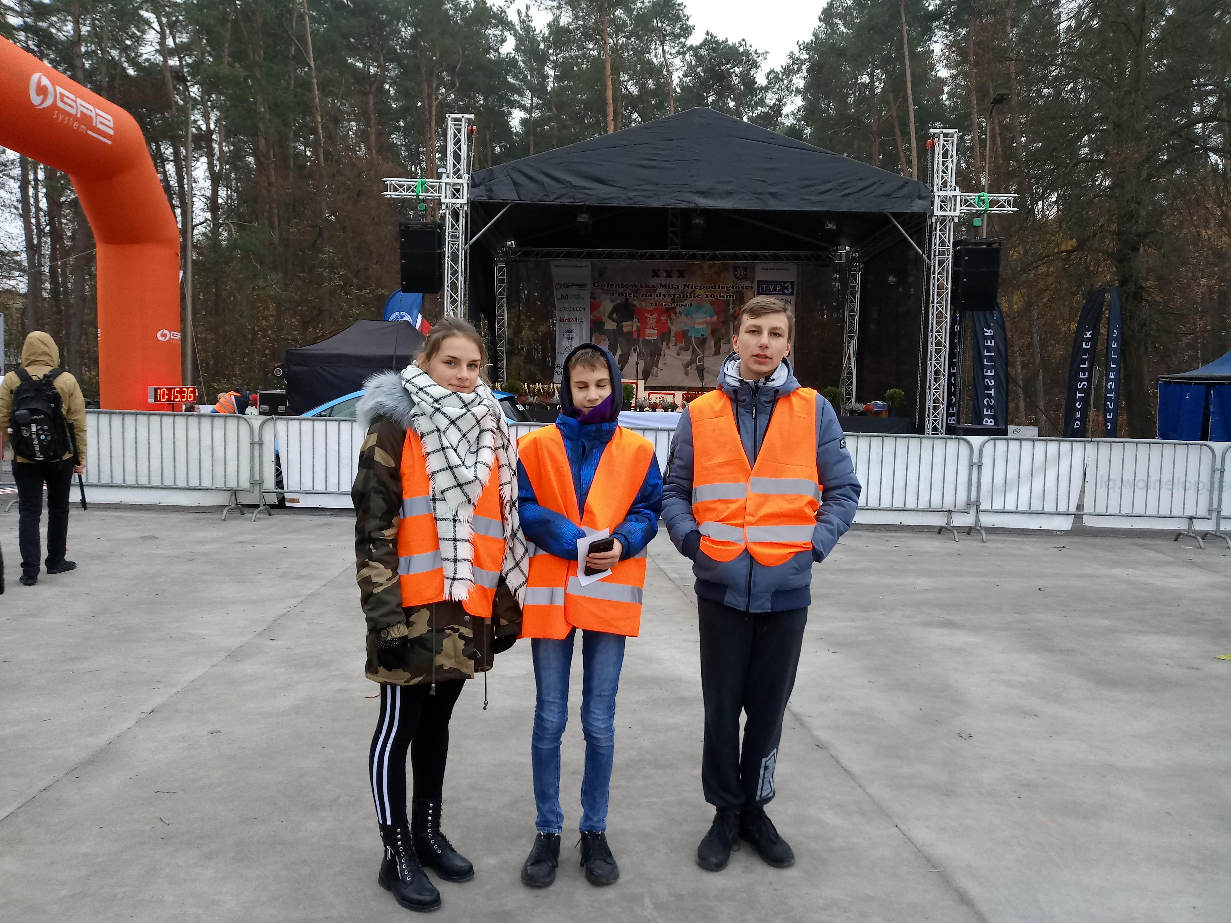 MILA wolontariuszy
