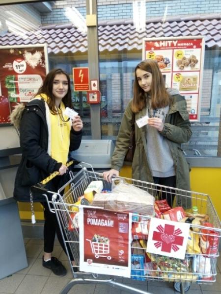 Pomagamy z Caritasem