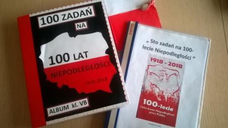 """""""100 zadań na 100-lecie Niepodległości"""""""