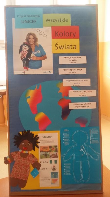 PROJEKT EDUKACYJNY UNICEF W SZKOLE PODSTAWOWEJ NR 4 W GOLENIOWIE