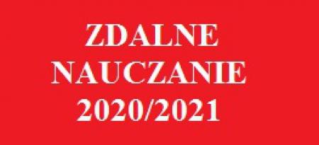ZDALNE NAUCZANIE 2020/2021