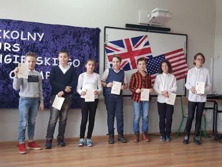 Międzyszkolny Konkurs Języka Angielskiego ENGLISH CHAMPION